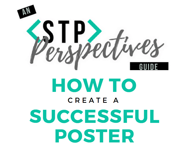 How to: Create a successful poster